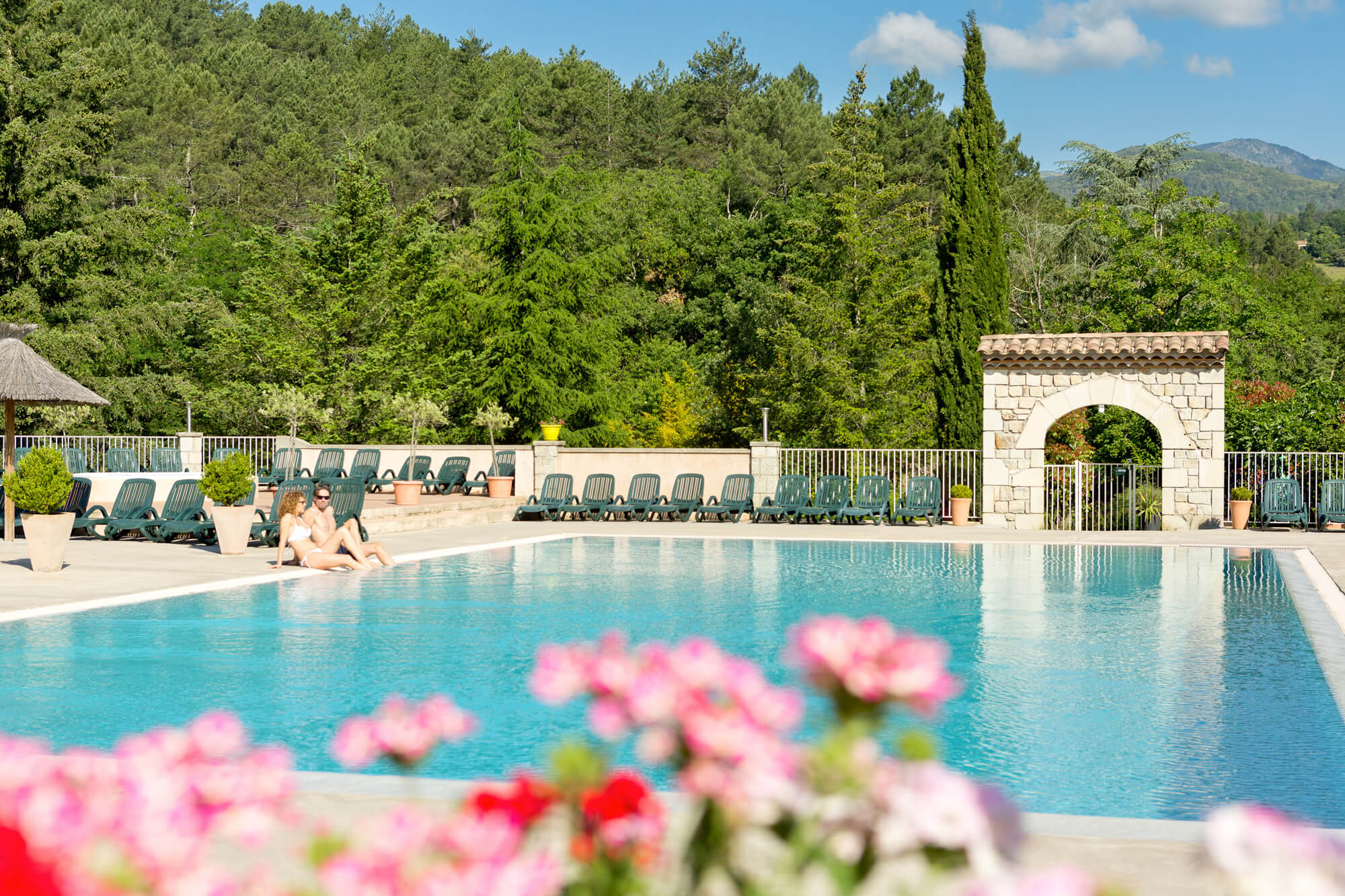 camping vallon pont darc avec piscine les ranchisses With camping a vallon pont d arc avec piscine